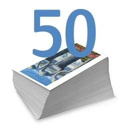 Set of 50 Colour Postcards